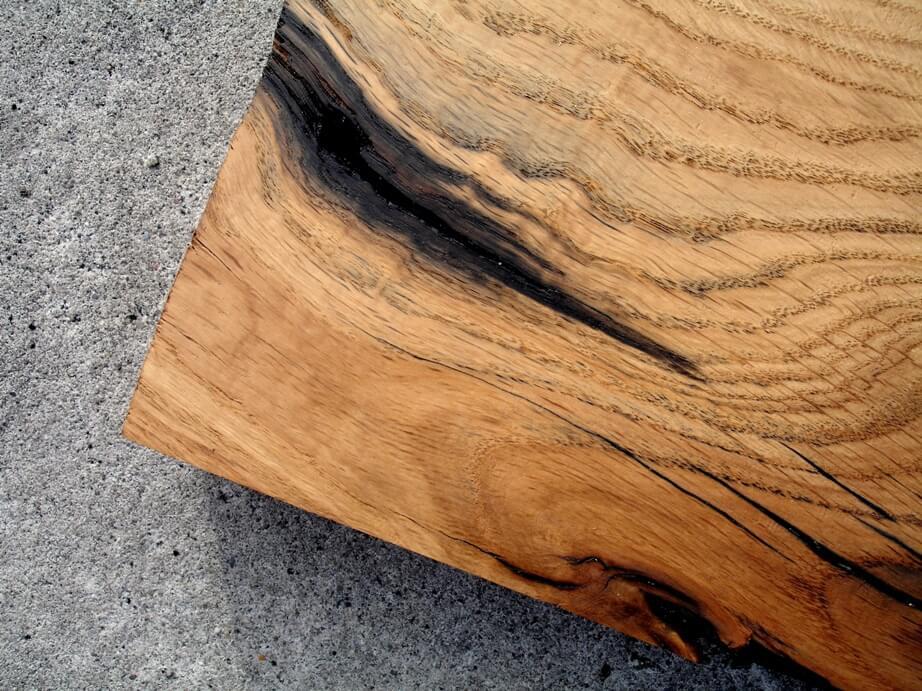 drewno dębowe heblowane