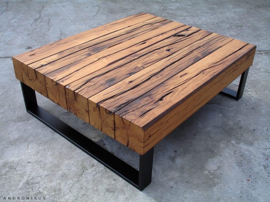 stolik stare drewno